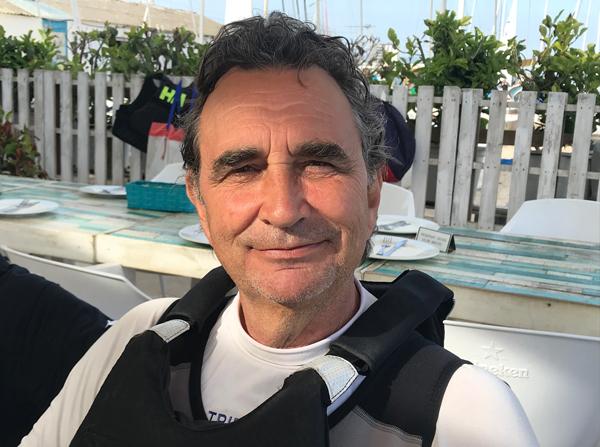 """Joaquim Roig: """"soy una especie de 'Poulidor' del patín a vela"""""""