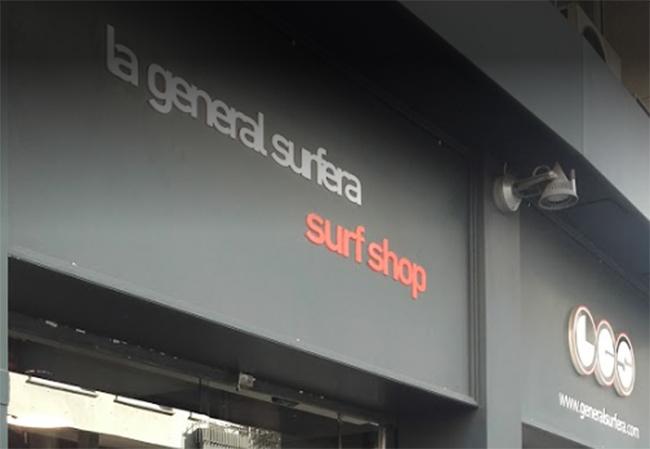 La General Surfera también planta cara al showrooming