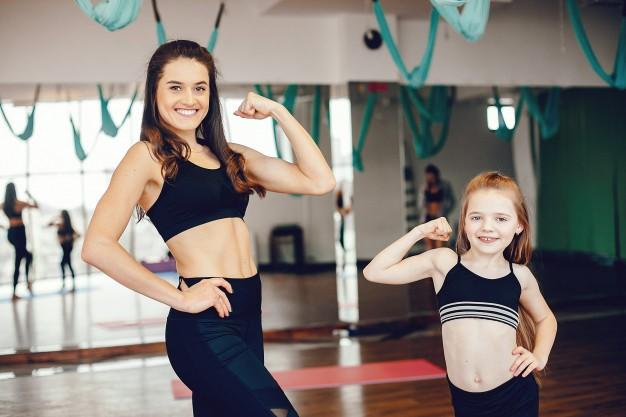Los mejores ejercicios de fuerza para niños