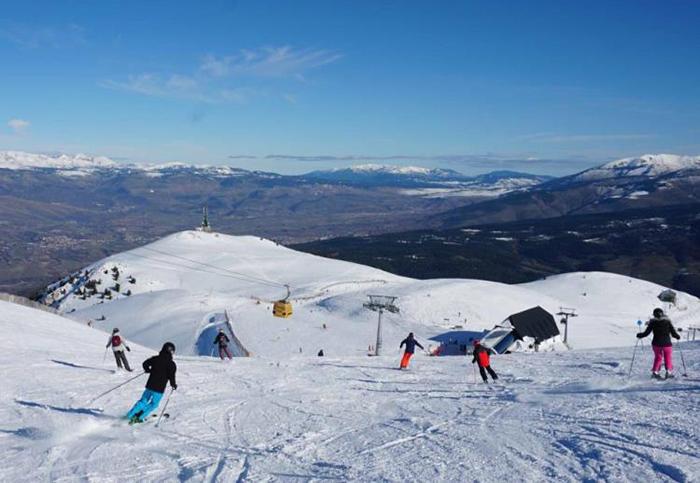 Las estaciones de esquí superan expectativas en el puente
