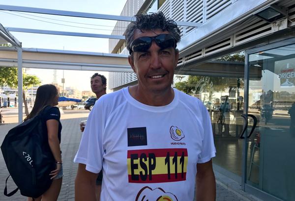 Ramón Calero la lía en la Liga Andaluza 2019-2020