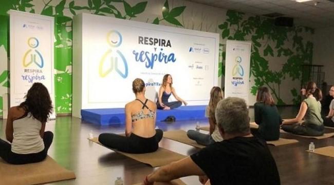 Arranca la campaña de Yoga  'Respira y respira'