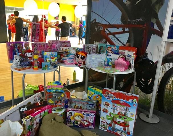 O2 Centro Wellness recoge juguetes para los más pequeños