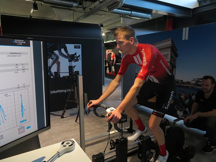 El Team Sunweb y Bikefitting se alían para desarrollar nuevas funcionalidades
