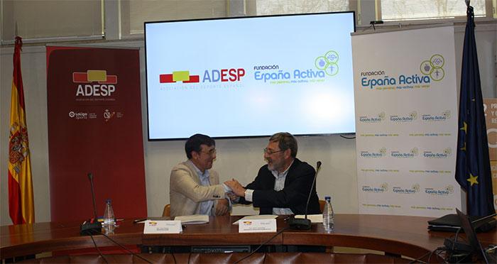La Fundación España Activa y la Asociación del Deporte Español unen fuerzas contra el sedentarismo