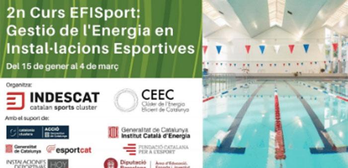 Indescat inicia un curso de gestión energética en instalaciones deportivas