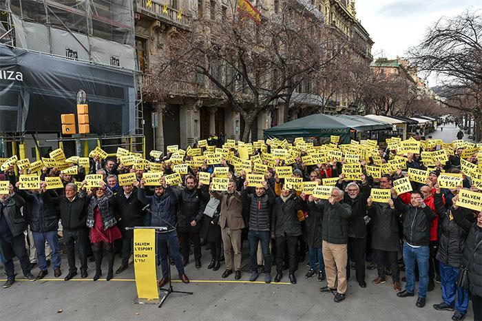 """El deporte catalán advierte a la Generalitat: """"No puede seguir menospreciándonos sistemáticamente"""""""