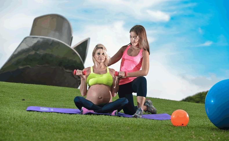 Ejercicio en la recta final del embarazo: el tercer trimestre