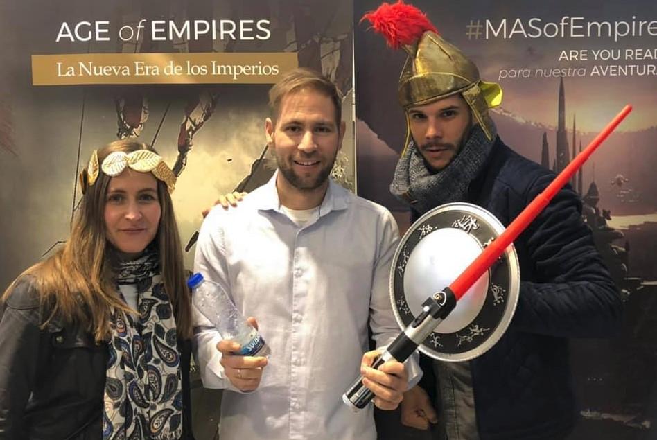 El tour Age of Empires llega a Barcelona