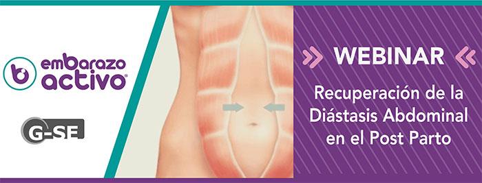 Embarazo Activo lanza un webinar sobre el tratamiento de la diástasis abdominal en el post parto