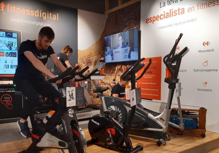 El idilio entre Intersport y Fitnessdigital adquiere músculo
