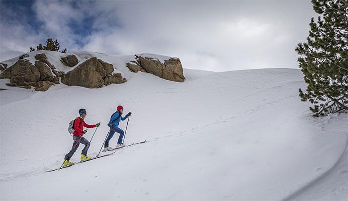 Los beneficios de practicar esquí de montaña para los trail runners