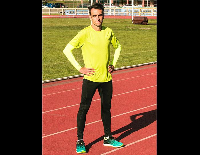 Saucony ficha al plusmarquista Fabián Roncero como embajador de la marca