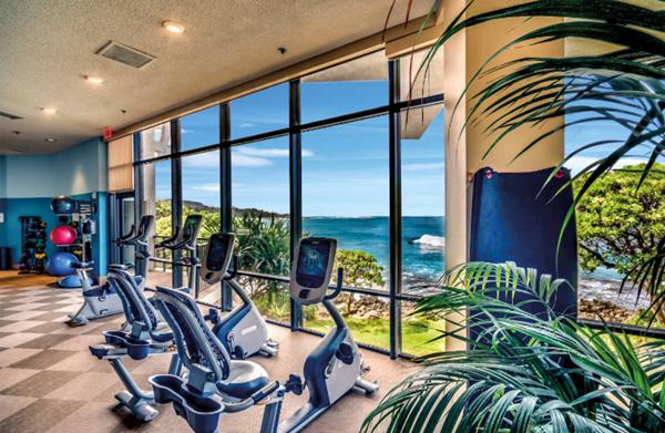 Los hoteles ganan músculo en el fitness
