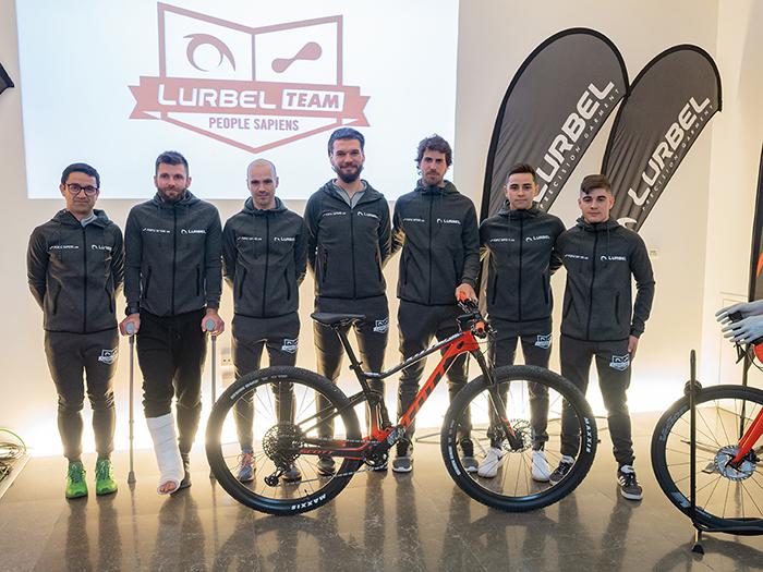 Lurbel amplía su equipo de competición con una sección de MTB