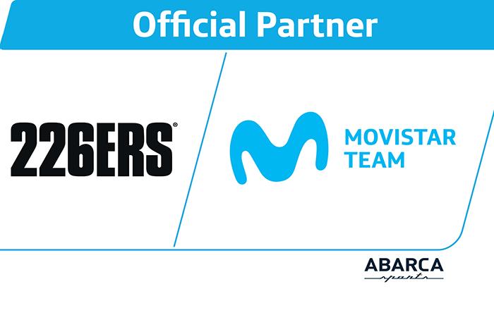 226ers firma como patrocinador oficial del Movistar Team