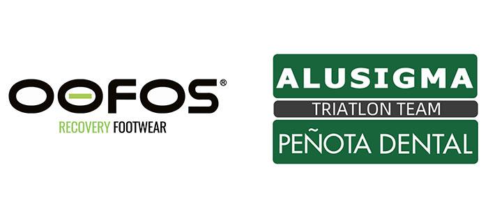 Oofos une fuerzas con el club de triatlón Alusigna Peñota Dental