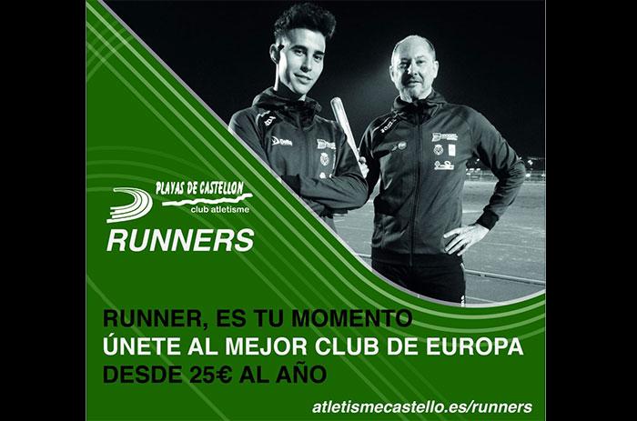 El club de atletismo Playas de Castellón inaugura sección para corredores populares
