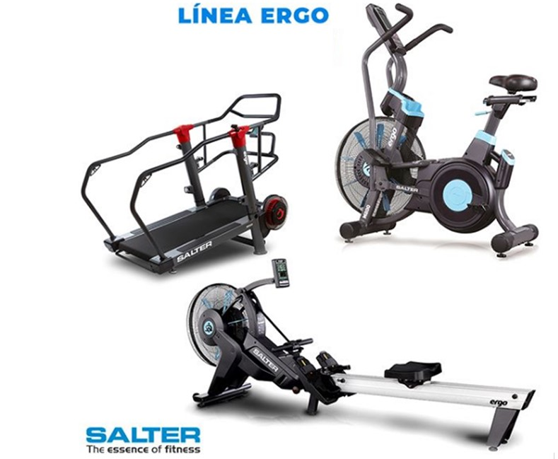 Salter lanza la nueva línea para entrenamientos de alta intensidad Ergo
