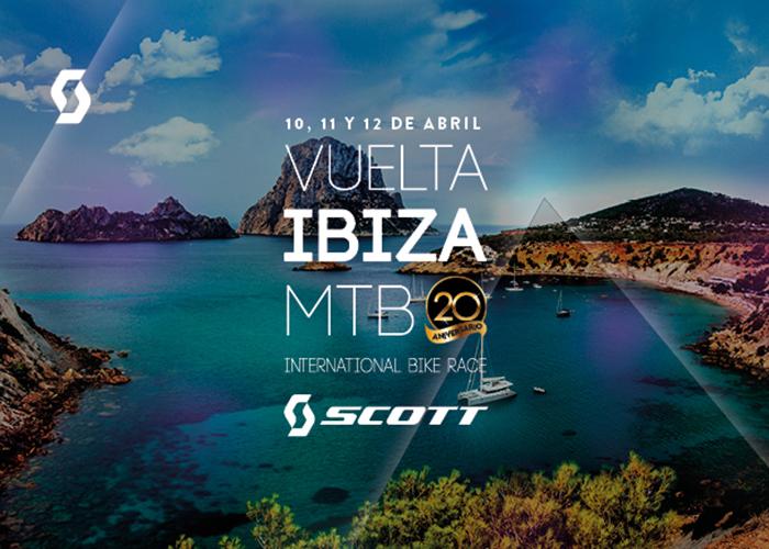 Scott repite como patrocinador de la Vuelta a Ibiza