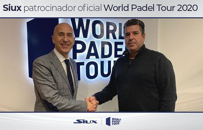 Siux se suma a la lista de patrocinadores del World Padel Tour