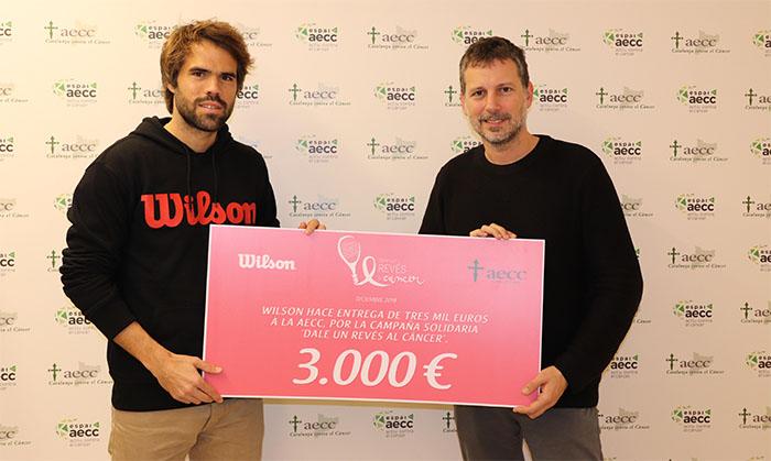 Wilson recauda 3.000 euros para la lucha contra el cáncer