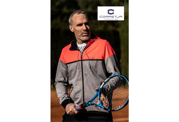 Intersport se alía con Álex Corretja para comercializar su colección deportiva