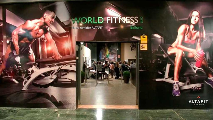 AltaFit sigue de compras y adquiere el gimnasio World Fitness Gym