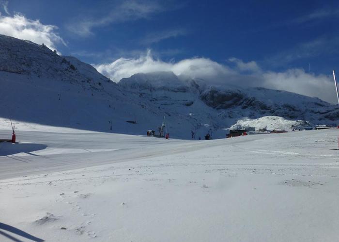 Candanchú prevé un 30% más de esquiadores esta temporada