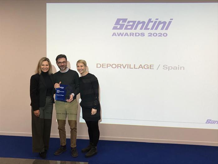 Deporvillage, premiada por Santini como mejor tienda online en 2019