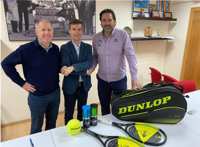 Dunlop renueva como pelota oficial de la Federación de Tenis de Madrid