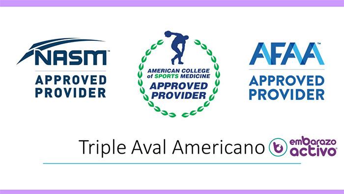 Embarazo Activo obtiene el triple aval internacional americano