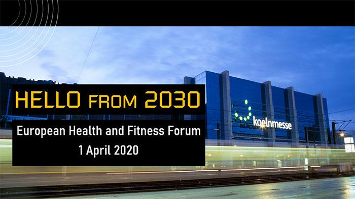 El Foro Europeo de la Salud y el Fitness 2020 desvela su programa