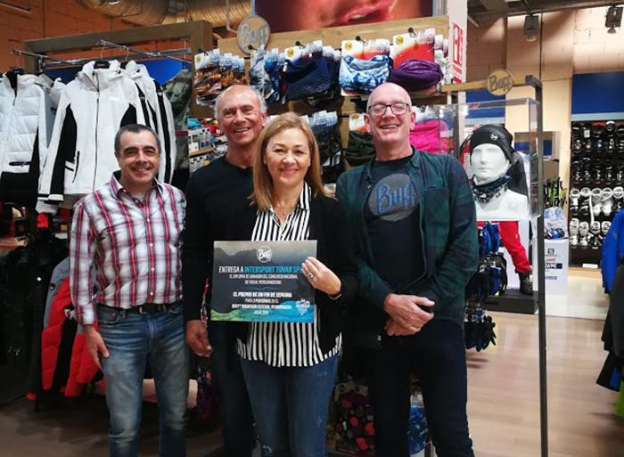 Intersport Tovar Sport gana el primer concurso de visual merchandising de Buff