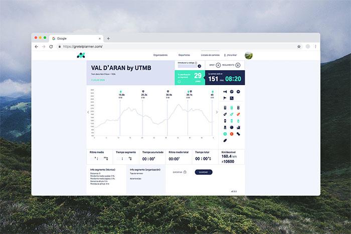 Nace la plataforma de planificación de carreras de montaña Gretel Planner