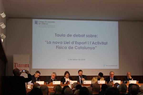 Falta de consenso en la nueva ley catalana del deporte y la actividad física