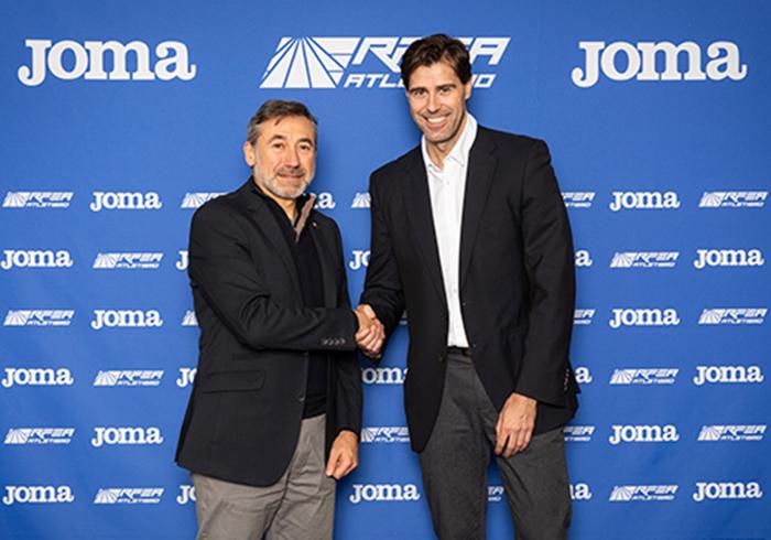 Joma renueva el patrocinio de la Real Federación Española de Atletismo