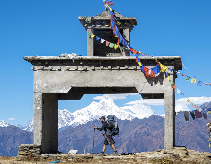 Sergi Unanue y David Benedicto, los montañeros más jóvenes en cruzar el Himalaya sin asistencia
