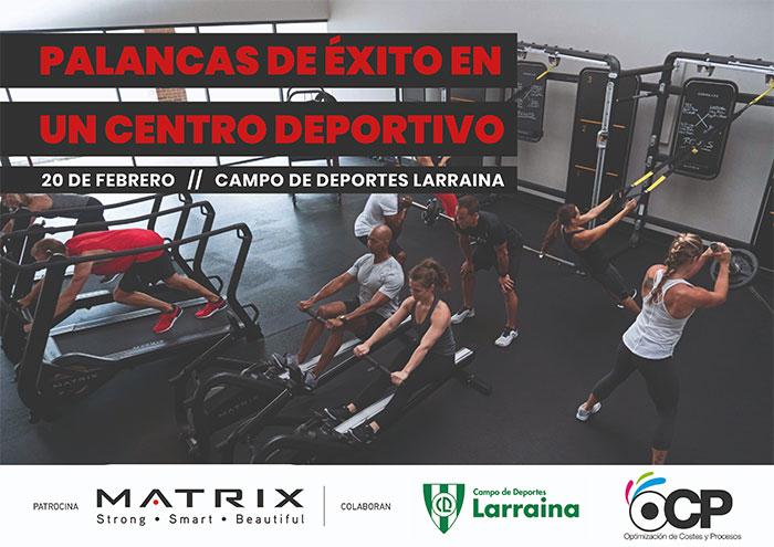 OCP analizará en Pamplona las palancas de éxito de un centro deportivo