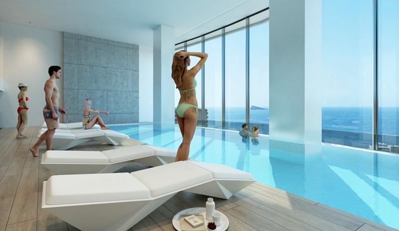 El rascacielos Benidorm Beach construirá numerosos espacios deportivos