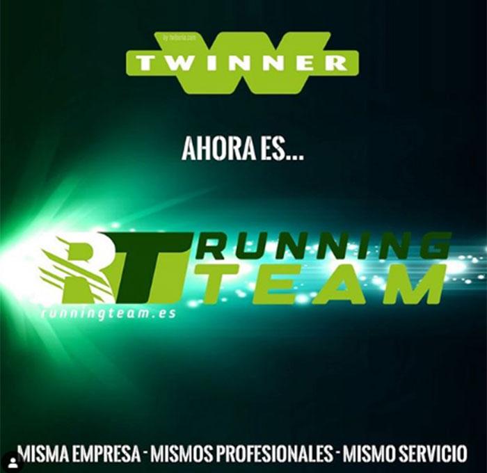 Twinner Running Center cambia de nombre y refuerza su posicionamiento en colectivos