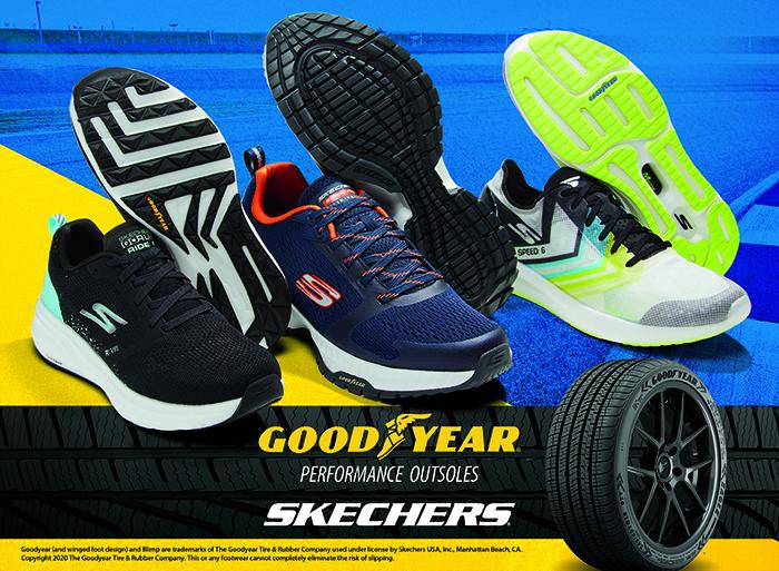 Skechers se alía con Goodyear para desarrollar calzado de alto rendimiento