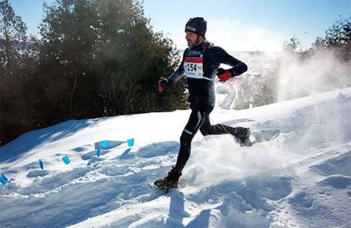 Snow Running: Correr con raquetas de nieve