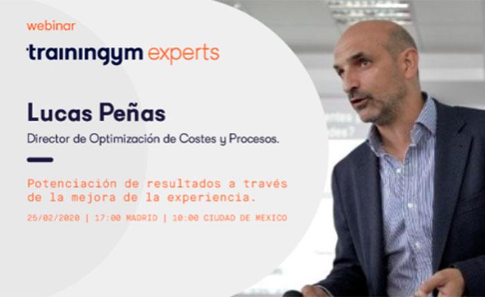 Lucas Peñas ofrecerá claves para mejorar la rentabilidad del gimnasio a través de la experiencia de cliente