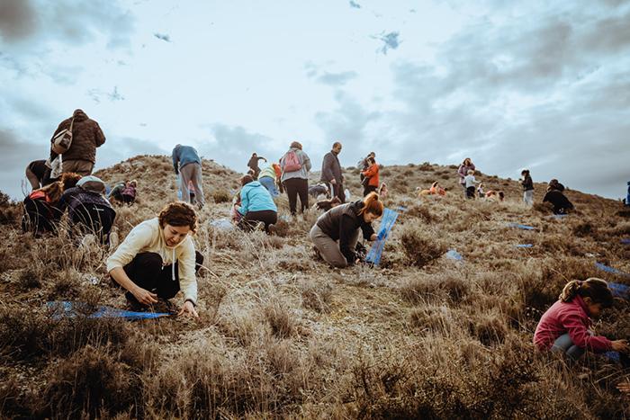 Trangoworld participa en una acción de reforestación en Zaragoza
