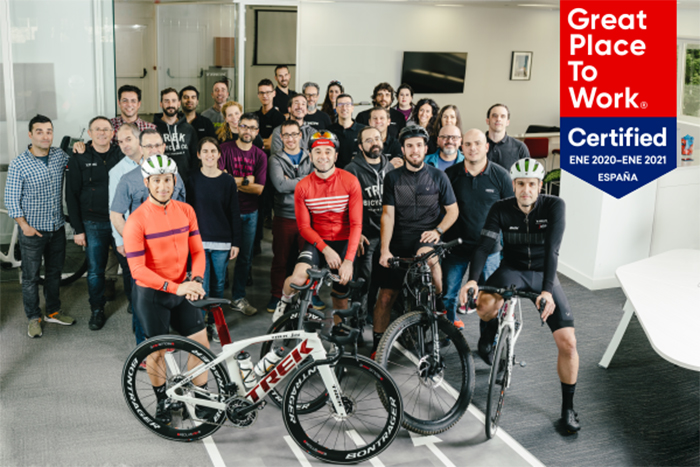 Trek Iberia, primera empresa del sector ciclista reconocida como Great Place to Work
