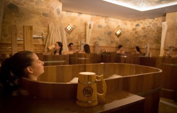 Beer Spa, baños hidratantes, nutritivos y detoxicantes