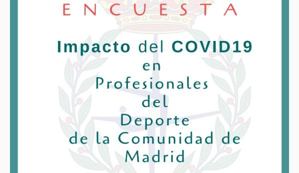 COPLEF Madrid lanza una encuesta sobre el impacto del Covid19