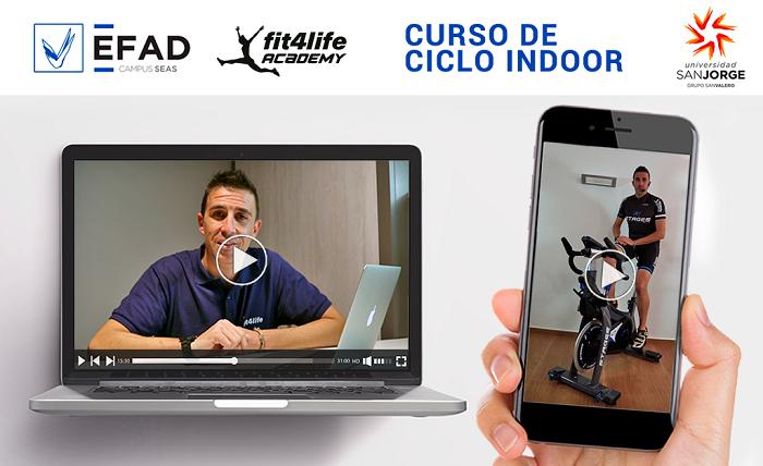 Fit4Life y la EFAD lanzan un curso de ciclo indoor online