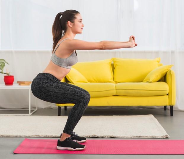Los mejores ejercicios para realizar en casa sin material